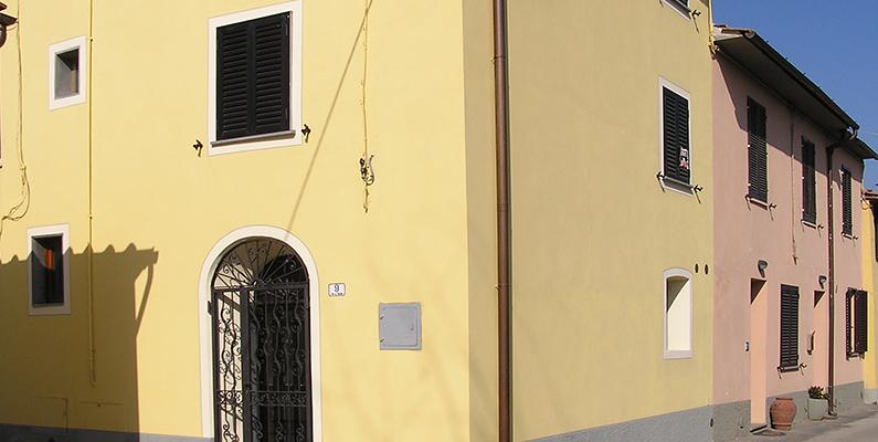 Abitazione e laboratorio a Pistoia