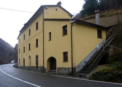 Ristrutturazione a San Pellegrino, Sambuca P.se